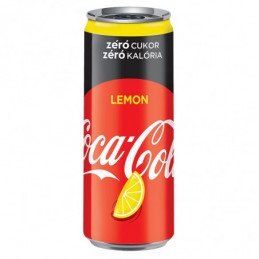Coca-Cola Zero lemon 0,33l...